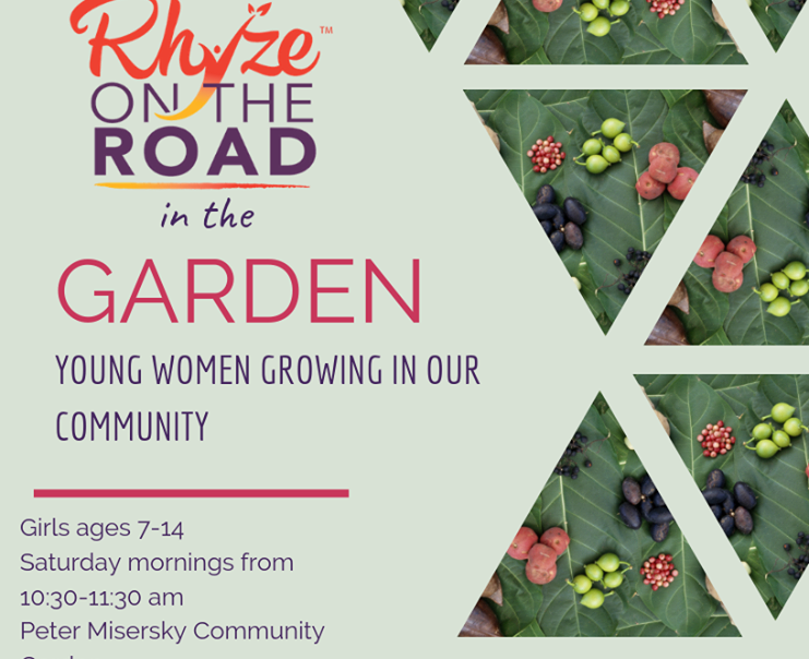 Rhyze on the Road is in the Garden for its 2nd year!