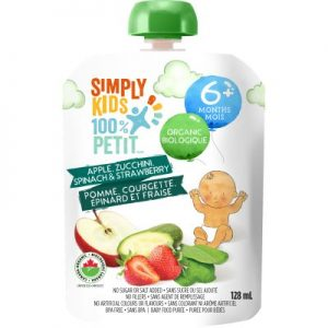 Simply Kids Organic Fruit Puree (best before June 2020)