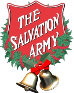 Salvation Army logo with bells